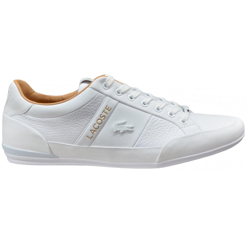 Lacoste Chaymon Herren Sneaker weiß braun