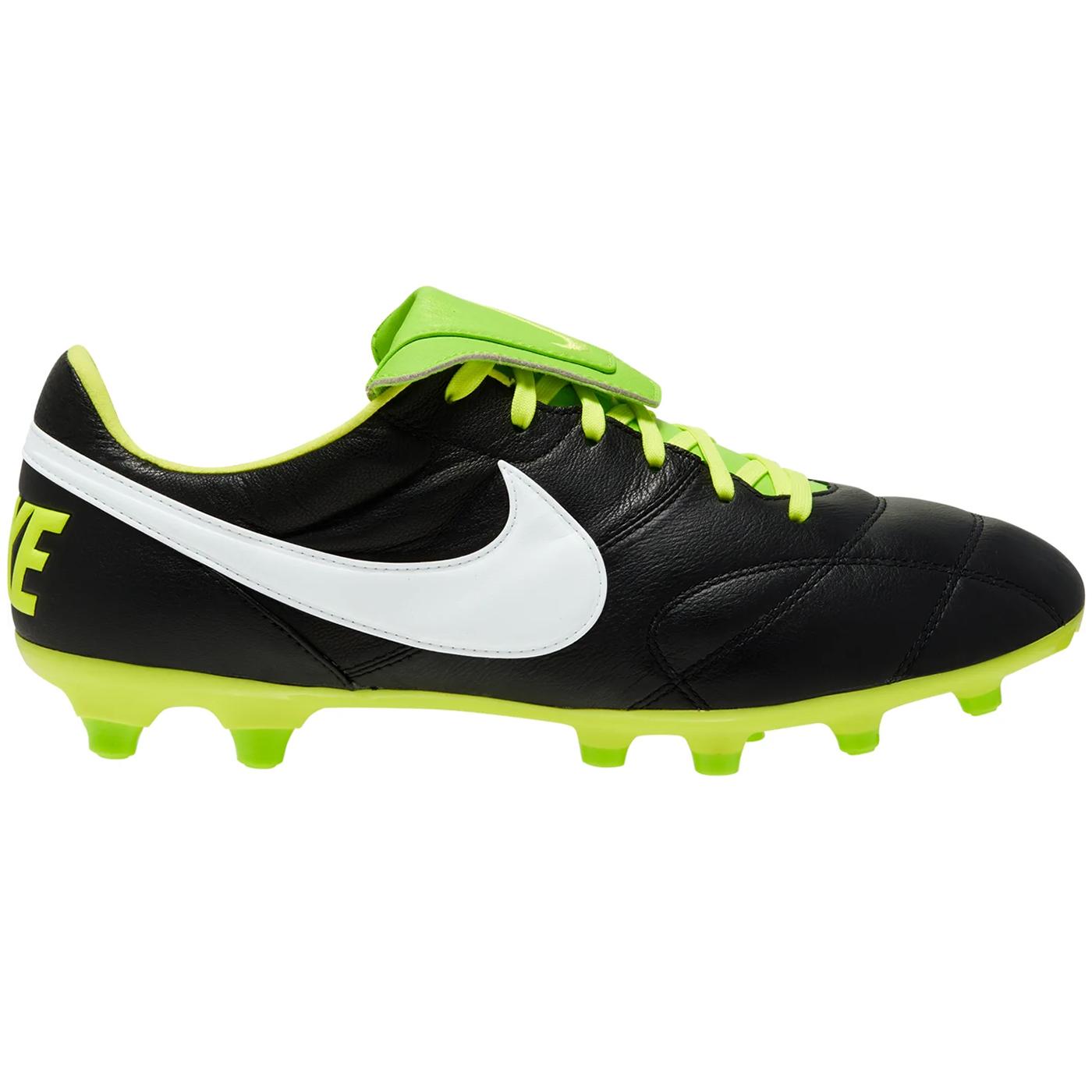 The Nike Premier II FG Fußballschuhe schwarz grün 917803 013