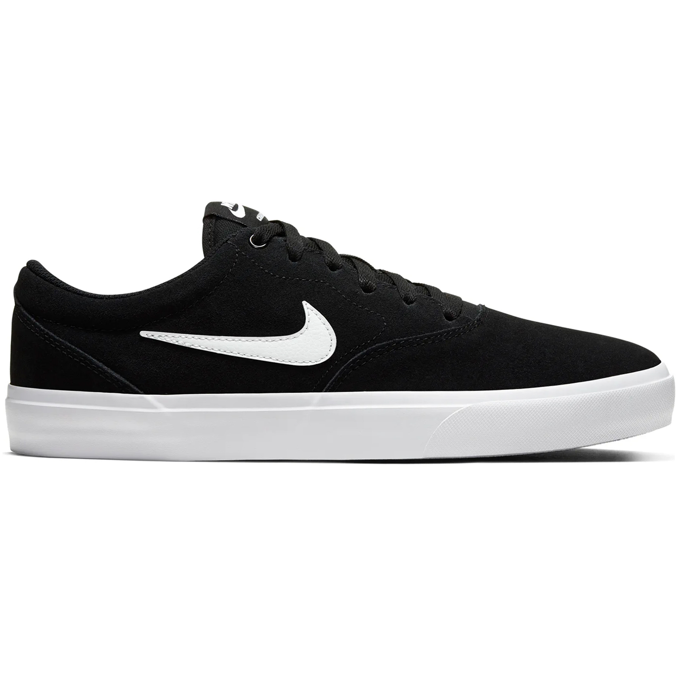 Nike SB Charge Suede Sneaker Skateschuh schwarz weiß