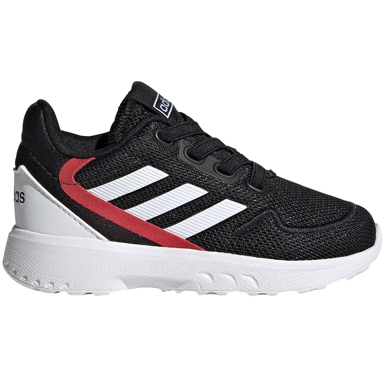 adidas Performance Nebzed Kinder Sneaker schwarz weiß rot EG3937