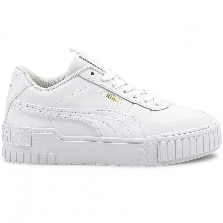 Puma Cali Sport Junior Sneaker weiß gold
