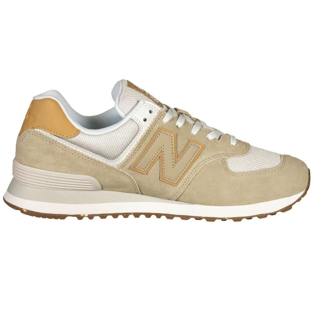New Balance ML574AA2 Herren Sneaker beige