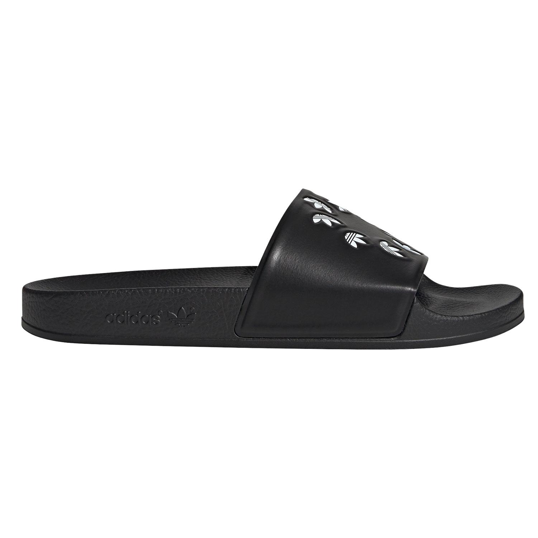 adidas Originals Adilette Badeschuhe schwarz Trefoil H02888