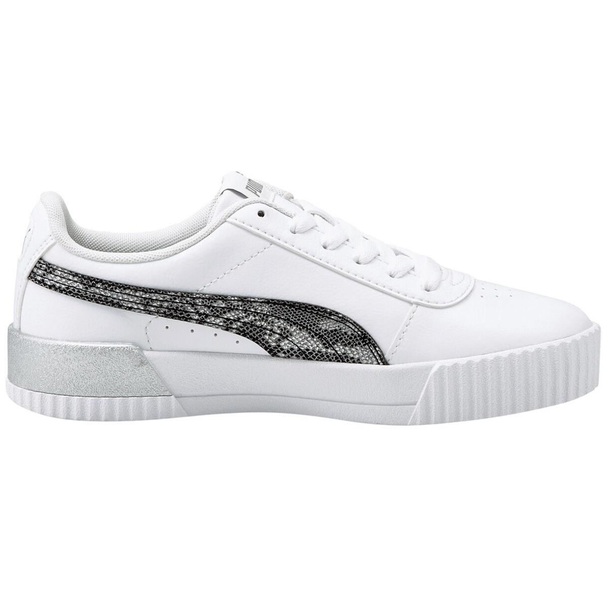 Puma Carina Untamed Damen Sneaker weiß silber 375959 01