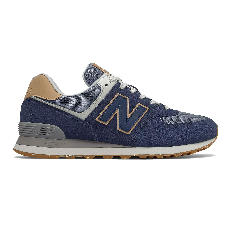 New Balance Herren Sneaker ML574AB2 blau beige