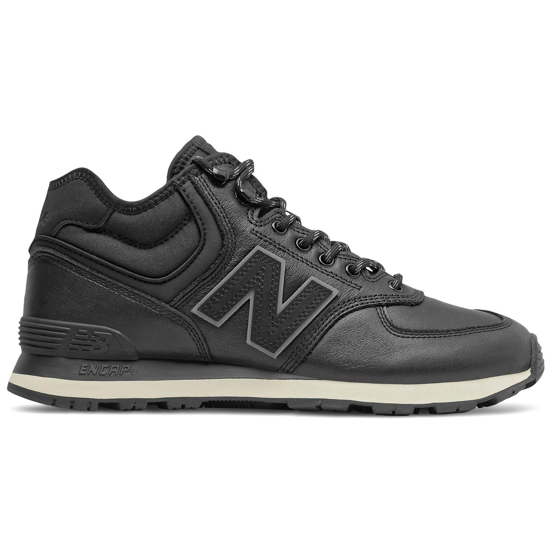 New Balance MH574GX1 Herren Sneaker schwarz grau Leder