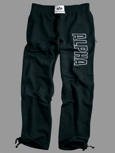 Alpha Industries Trainingshose Track Pant schwarz