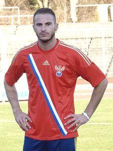 adidas Russland Heimtrikot rot EM 2012 Herren unbeflockt – Bild 1