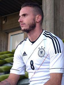 adidas DFB Heimtrikot Mesut Özil Flock weiß EM12 Herren – Bild 4