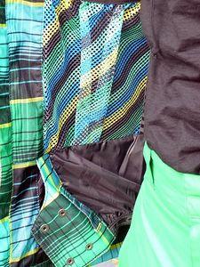 O`Neill Freedom Alfabravo Jacket Herren Snowboardjacke grün kariert – Bild 4
