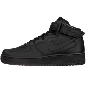 Nike Air Force 1 MID `07 High-Top Sneaker schwarz – Bild 2