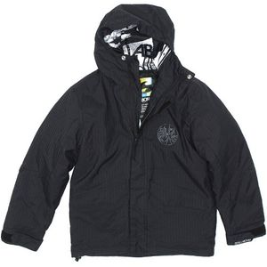Billabong Unit Boys Kinder Snowboardjacke schwarz