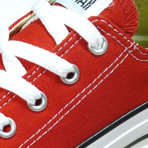 Converse All Star OX Kinder red Canvas – Bild 3