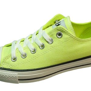 Converse CT OX Neon Gelb Chucks Canvas – Bild 3