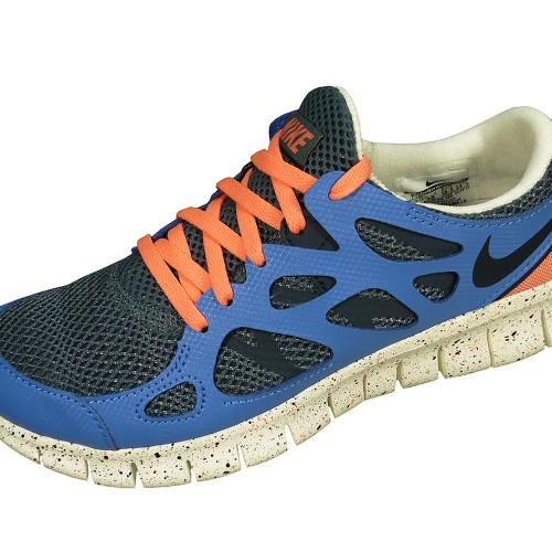 Nike Wmns Free Run 2 EXT Trainingsschuh Damen grau blau
