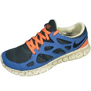 Nike Wmns Free Run 2 EXT Trainingsschuh Damen grau blau – Bild 1