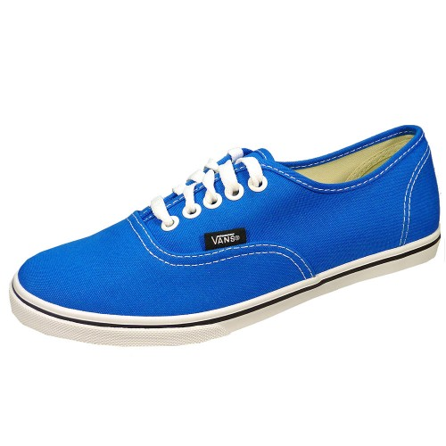 vans authentic lo pro blau