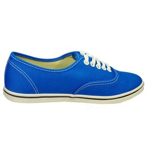 Vans Authentic Lo Pro Damensneaker blau weiss – Bild 2