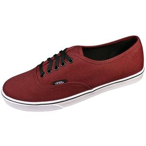 Vans Authentic Lo Pro Damensneaker weinrot weiss – Bild 1
