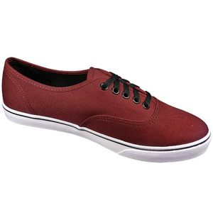 Vans Authentic Lo Pro Damensneaker weinrot weiss – Bild 3
