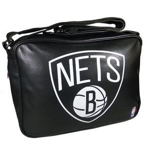 Kothai sport Umhängetasche Brooklyn NETS schwarz weiss