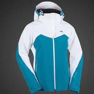 Kjus Ladies Sting Ray Jacket Skijacke türkis weiß 2013/2014