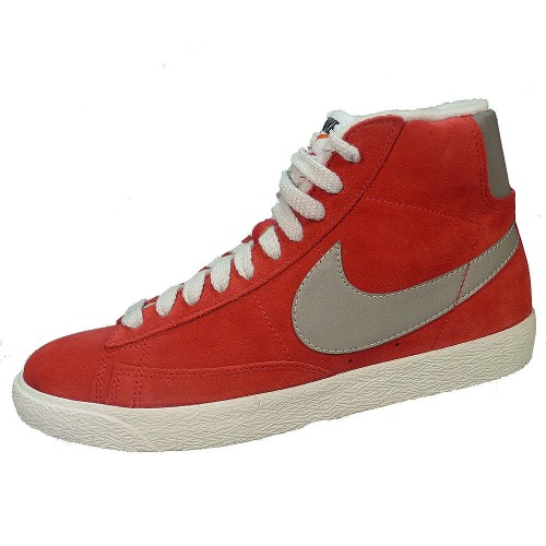 stable quality good looking cheaper Nike Blazer Mid PRM VNTG Suede Herren Basketballschuh rot grau