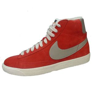 Nike Blazer Mid PRM VNTG Suede Herren Basketballschuh rot grau – Bild 1
