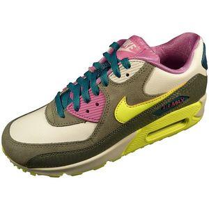 Nike Air Max 90 2007 Sneaker Freizeitschuh weiß grau neon