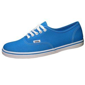 Vans Authentic Lo Pro Damen Sneaker blau weiss – Bild 1