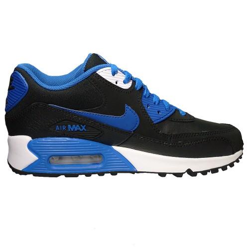 Nike Air Max 90 2007 Sneaker Freizeitschuh schwarz blau
