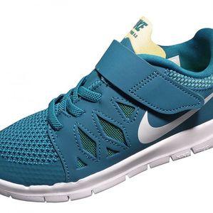 Nike Free 5 (PSV) Kinder Freizeitschuh Sneaker Blau – Bild 3