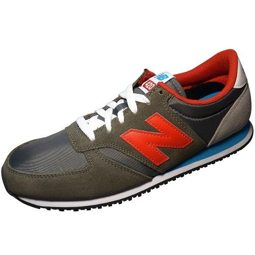 online store a76f2 01f40 New Balance U420SNBR Unisex Sneaker Grau Rot