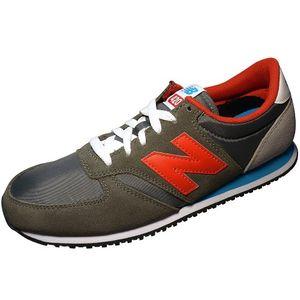 New Balance U420SNBR Unisex Sneaker Grau Rot