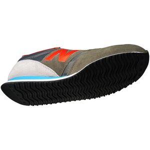 New Balance U420SNBR Unisex Sneaker Grau Rot – Bild 4