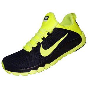 Nike Free Trainer 5.0 Trainingsschuh Herren schwarz neongelb