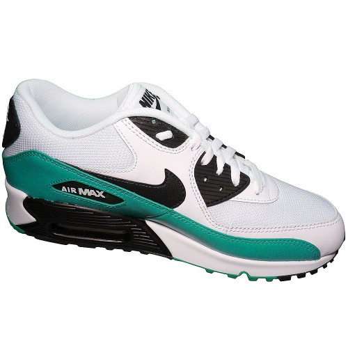 outlet store 298c0 b29f7 Nike Air Max 90 Essential Herren Sneaker Weiß Türkis ...