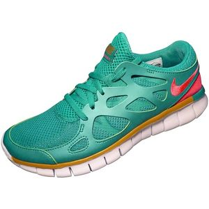 Nike WMNS Free Run 2 EXT Damen Running Grün