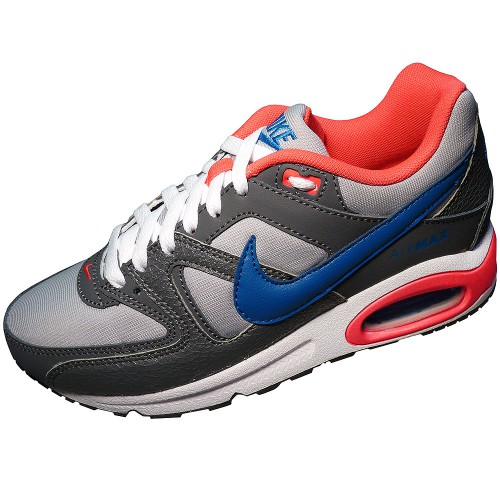 Nike Air Max Command (GS) Kinder Sneaker grau blau neon