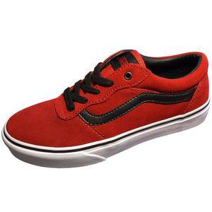 Vans Milton Kinder Sneaker rot schwarz weiß