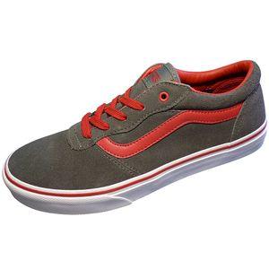 Vans Milton Kinder Sneaker grau rot