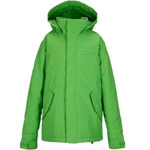 Burton Boys Amped Jacket Kinder Snowboardjacke grün