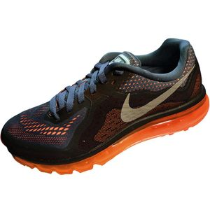 Nike Air Max 2014 Herren Sneaker grau orange