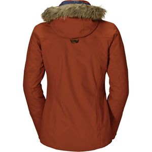 Jack Wolfskin Nova Scotia Jacket Women Damenjacke earth orange – Bild 2