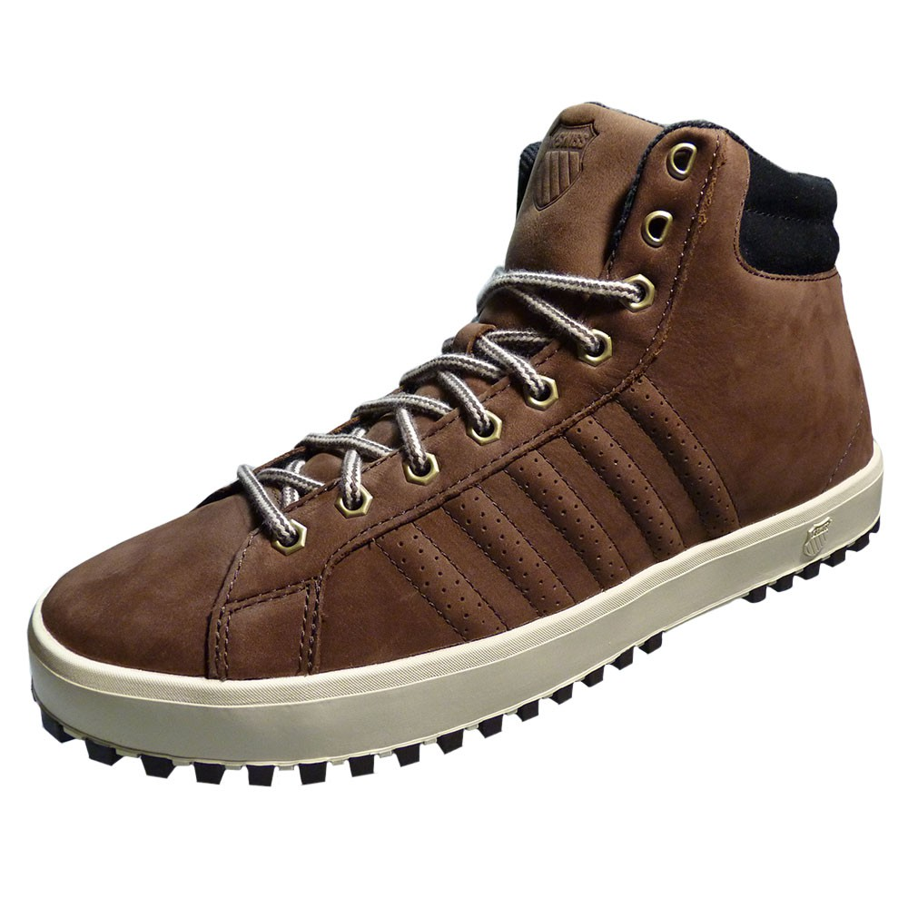 k swiss adcourt 39 72 boot herren winterschuh sneaker braun beige. Black Bedroom Furniture Sets. Home Design Ideas