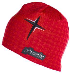 Phenix Lyse Knit Hat Herren Strickmütze rot