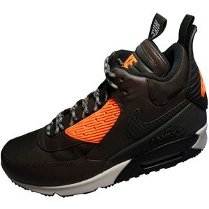 Nike Air Max 90 Sneakerboot Winter Herrenschuh braun orange
