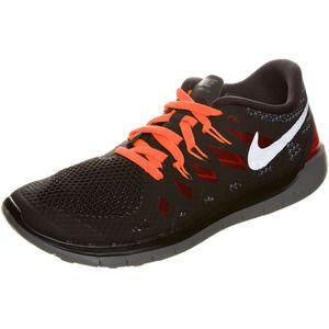 Nike Free 5.0 (GS) Laufschuh Sneaker schwarz rot