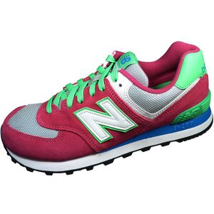 New Balance Schuhe WL574CPV Damen Sneaker pink grün