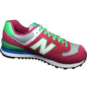 New Balance WL574CPV Damen Sneaker pink grün – Bild 2
